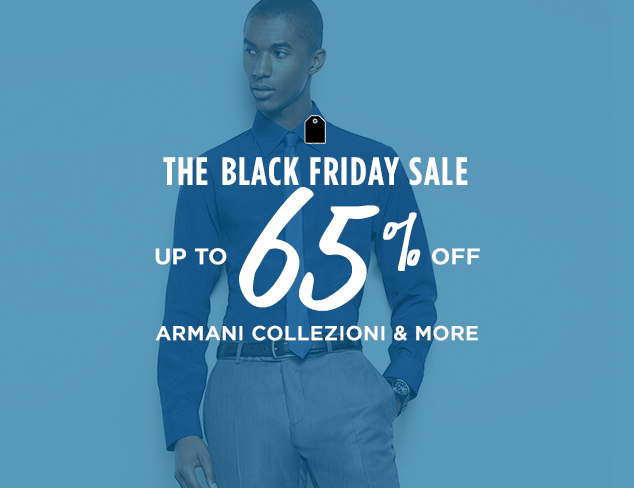 Up to 65% Off: Armani Collezioni & More at MYHABIT