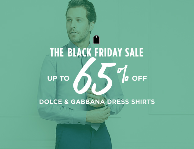 Up to 65% Off: Dolce & Gabbana Dress Shirts at MYHABIT