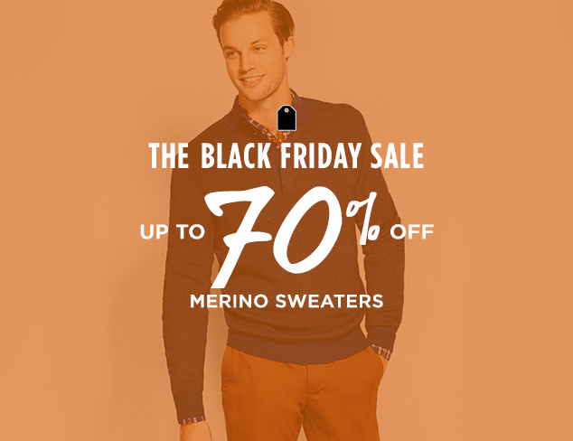 Up to 70% Off: Merino Sweaters at MYHABIT