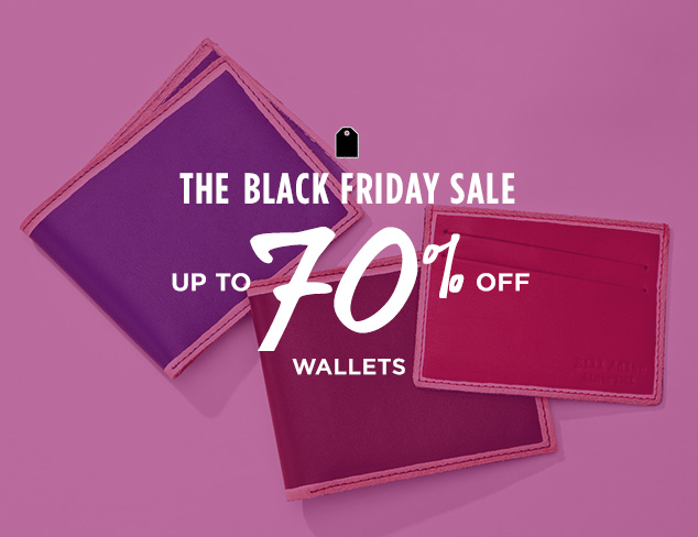 Up to 70% Off: Wallets at MYHABIT