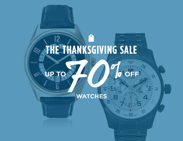 Up to 70% Off: Watches at MYHABIT