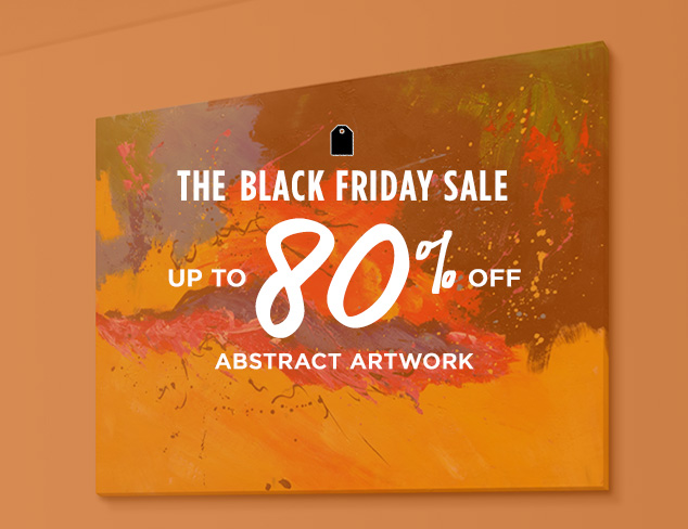 Up to 80% Off: Abstract Artwork at MYHABIT