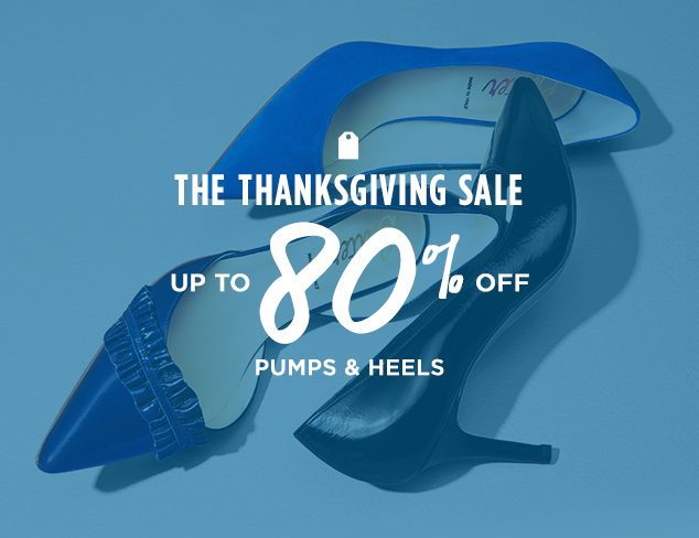 Up to 80% Off: Pumps & Heels at MYHABIT