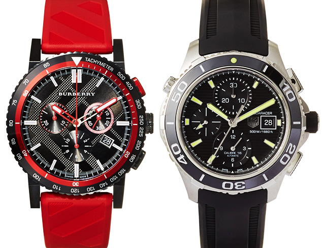 Watches feat. Burberry at MYHABIT