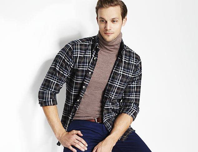 Winter Ready: Up to 70% Off Flannels & Plaids at MYHABIT