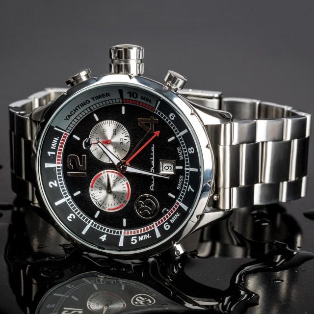 Bausele Yachting Watch // Black Dial + Coal Crown