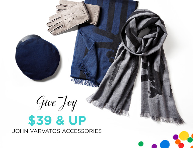 $39 & Up: John Varvatos Accessories at MYHABIT
