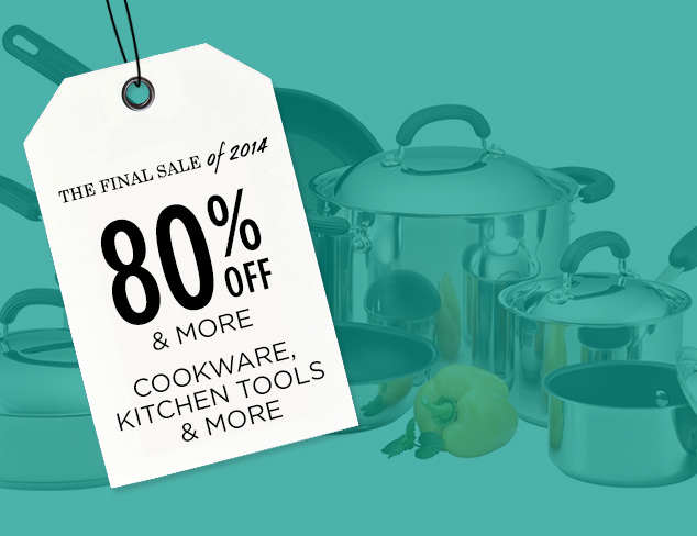 80% & More: Cookware, Kitchen Tools & More at MYHABIT