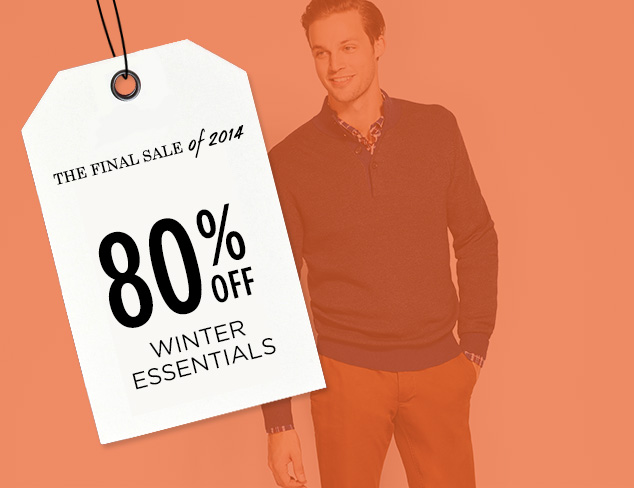 80% Off: Winter Essentials at MYHABIT