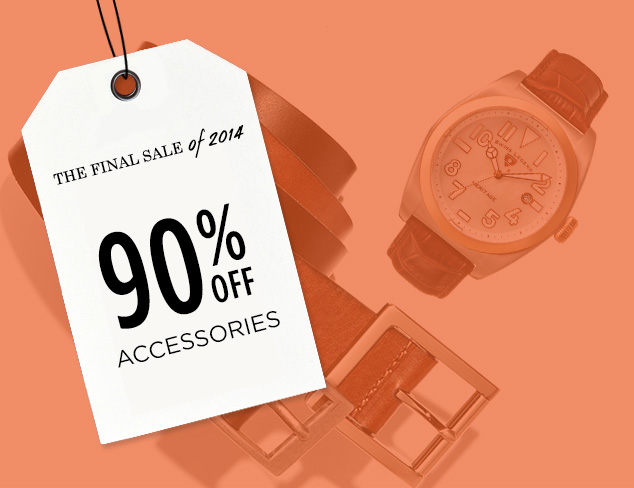 90% Off: Accessories at MYHABIT