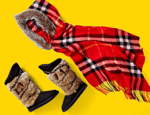 Après-ski: Boots, Hats, Mittens & More at MYHABIT