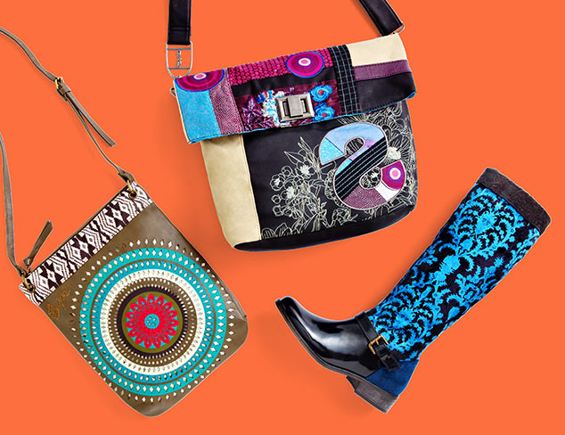 Desigual Bags, Shoes & More at MYHABIT