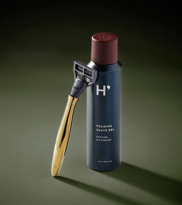 Harry's Brass Shave Set