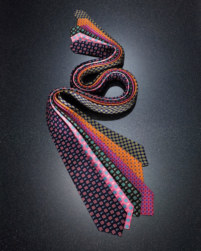 Kiton Medallion & Paisley Silk Neck Tie