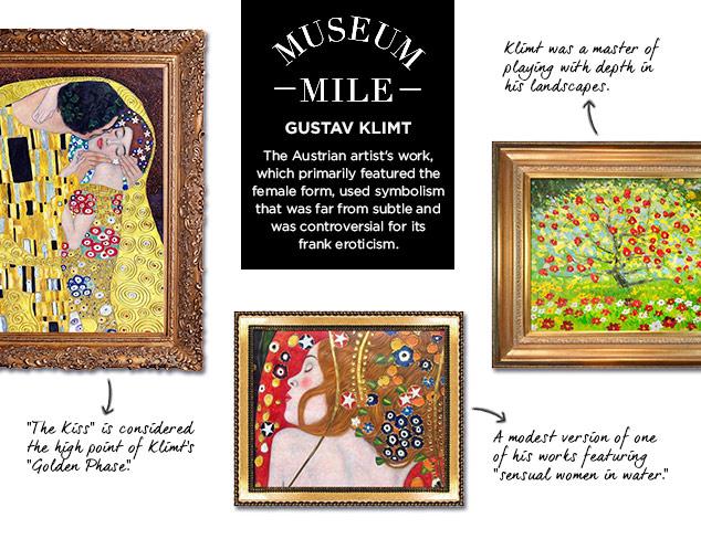 Museum Mile: Gustav Klimt at MYHABIT