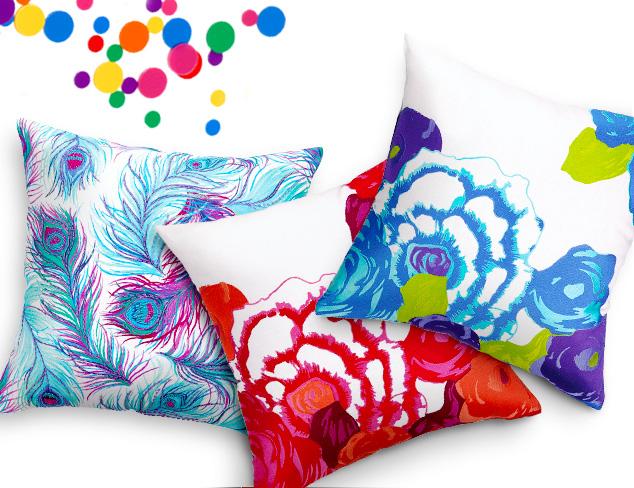 Nanette Lepore Villa Pillows at MYHABIT