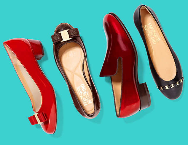 New Markdowns Salvatore Ferragamo at MYHABIT