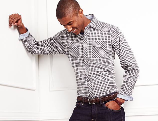 New Shirting Arrivals: James Campbell & More at MYHABIT