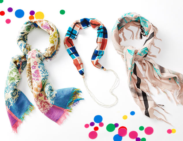 Printed Scarves for Every Occasion at MYHABIT