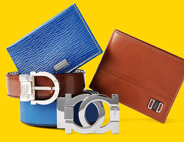 Salvatore Ferragamo Belts & Wallets at MYHABIT