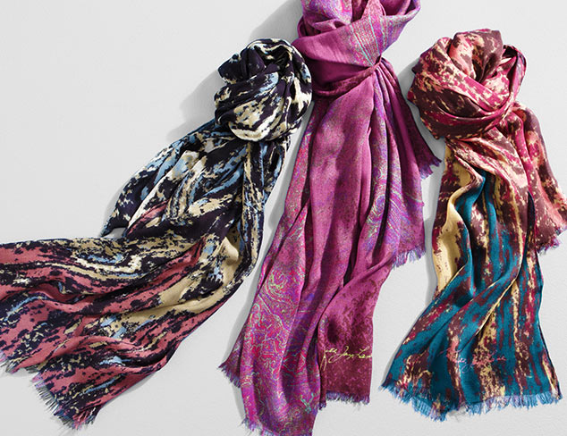 Scarves feat. Kenneth Jay Lane at MYHABIT