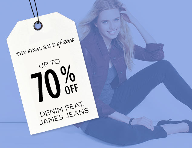 Up to 70% Off: Denim feat. James Jeans at MYHABIT
