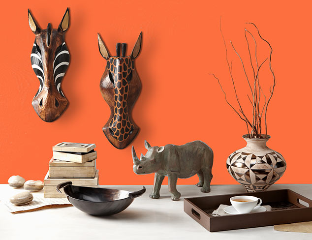 Worldly & Wild: Safari-Inspired Accents at MYHABIT