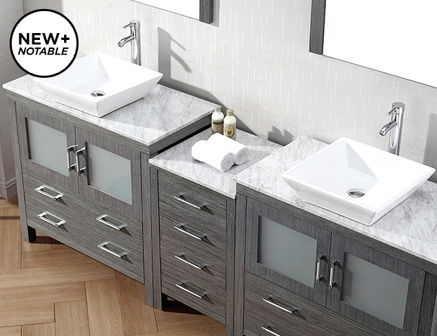 Bathroom Vanity Cabinets by Virtu USA at MYHABIT
