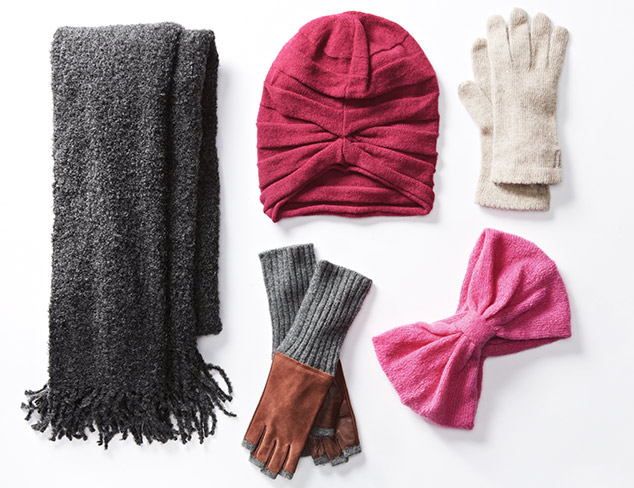 Cold Weather Accessories: Carolina Amato & More at MYHABIT