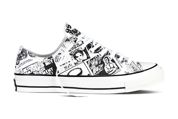 Converse Chuck Taylor All Star 70 Andy Warhol Newspaper Prints