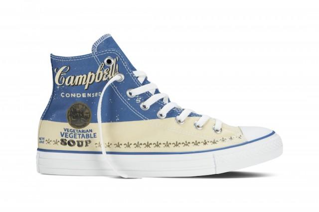 Converse Chuck Taylor All Star Andy Warhol Campbells Blue