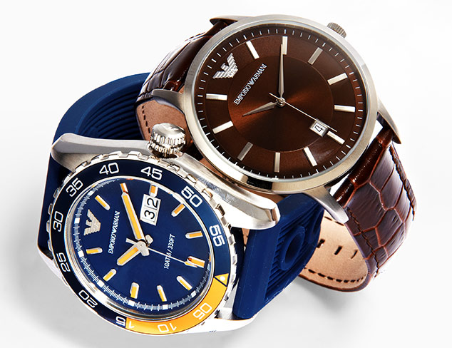 Emporio Armani Watches at MYHABIT