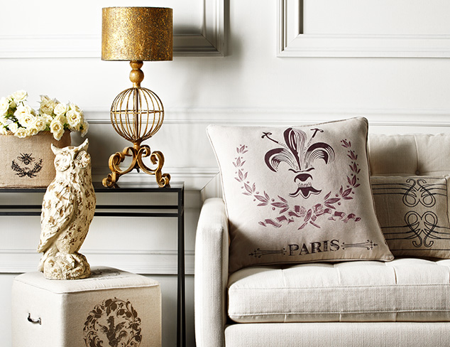 French Château: Accents & Décor at MYHABIT