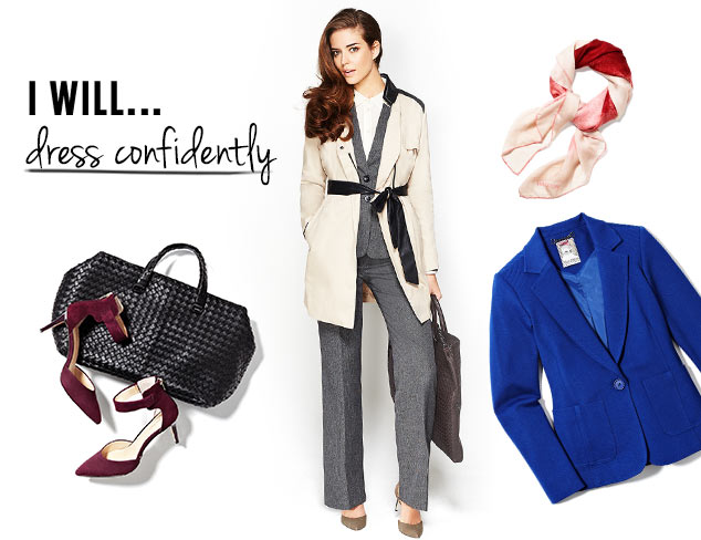 I will... Dress Confidently at MYHABIT