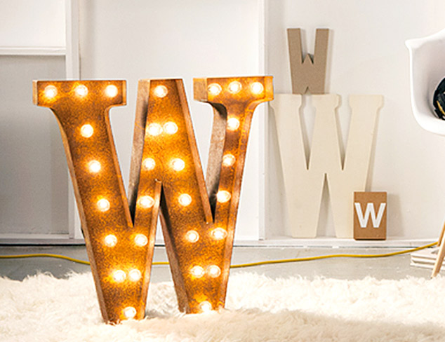 New Markdowns: Vintage Marquee Lights at MYHABIT