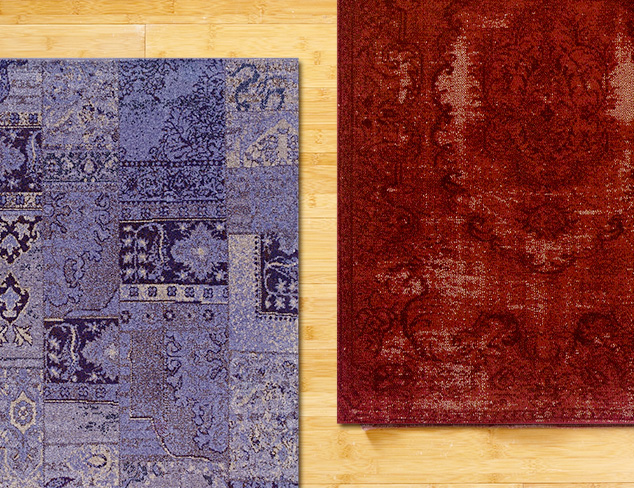 Overdyed Rugs at MYHABIT