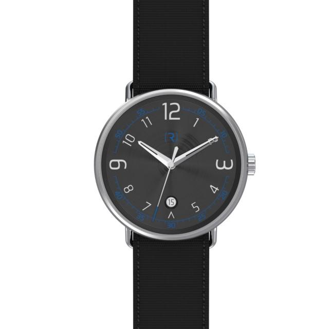 Ragazzo R1 Date Watch in Black