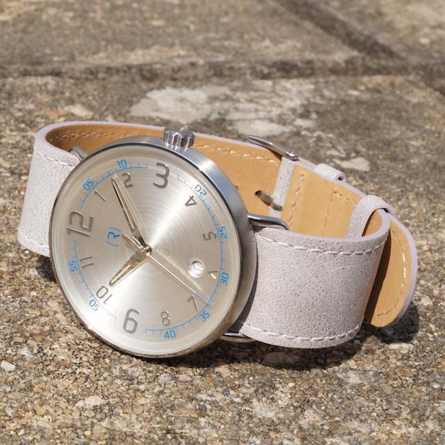 Ragazzo R1 Date Watch in White