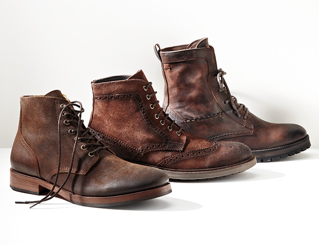Ruggedly Handsome: Shoes feat. Rogue at MYHABIT