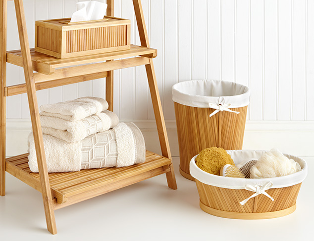 The Zen Bath feat. Bamboo Furniture at MYHABIT