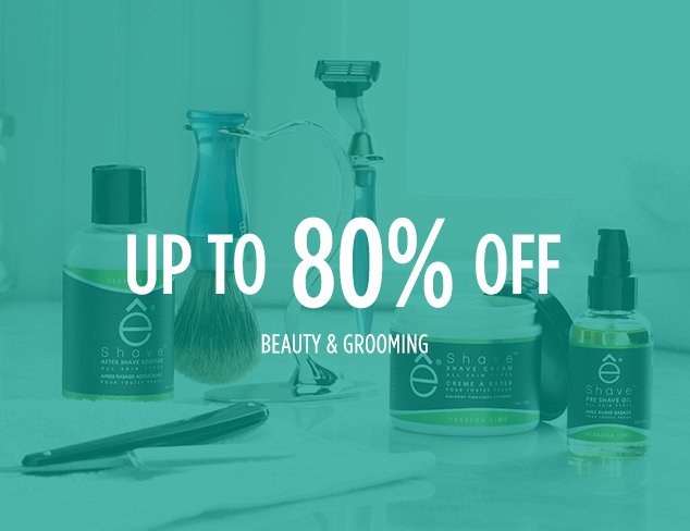 Up to 80% Off: Beauty & Grooming at MYHABIT