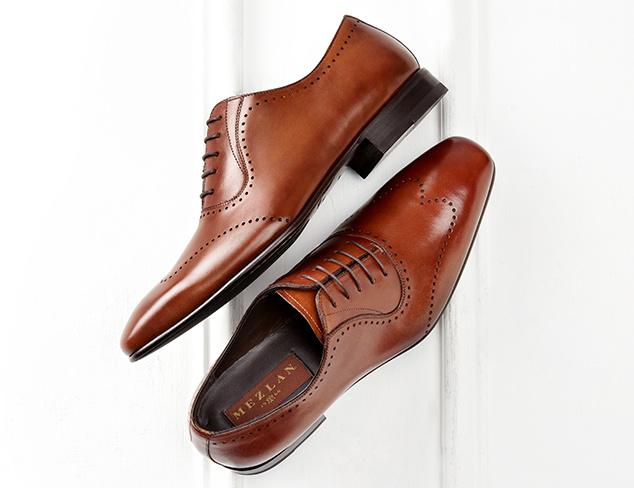 Up to 80% Off: Brown Dress Shoes at MYHABIT