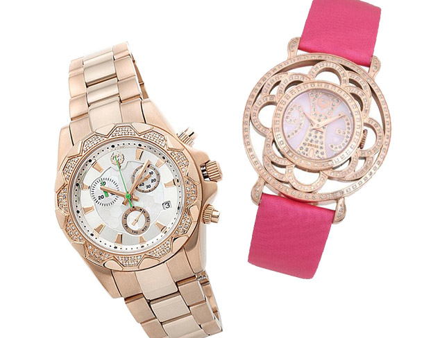 Watches That Sparkle: Brillier & More at MYHABIT