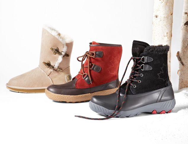 Wintery Mix: Cold Weather Boots at MYHABIT