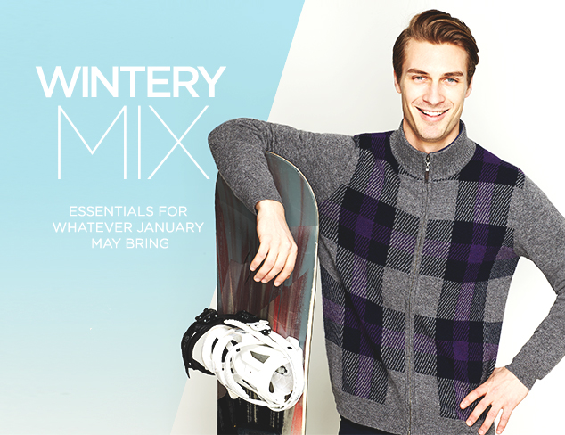 Wintery Mix: Sweaters & Outerwear at MYHABIT