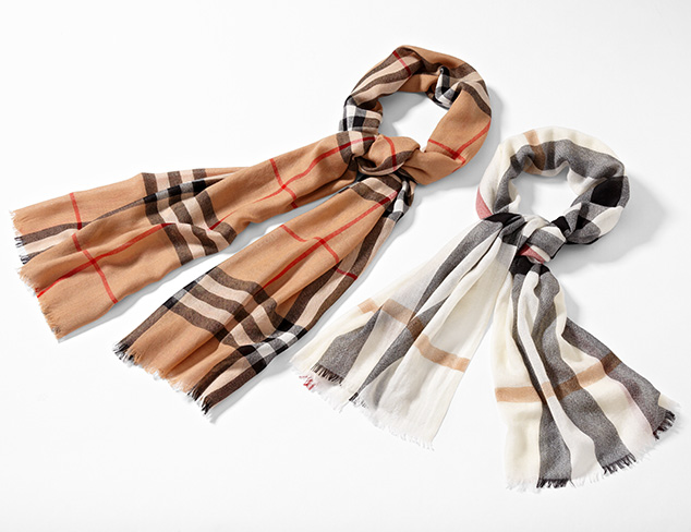 Burberry Scarves at MYHABIT