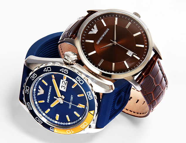 Distinguished Details: Watches & More at MYHABIT