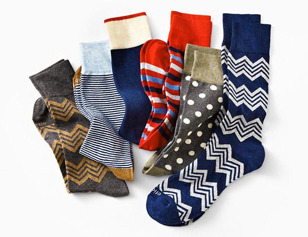 Etiquette Socks at MYHABIT