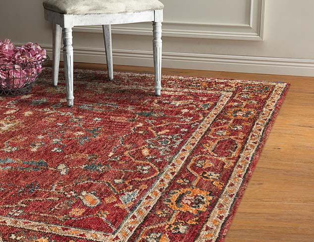 Hand-Knotted Rugs at MYHABIT