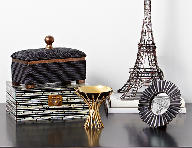 Inspired by Paris: Glam Décor Accents at MYHABIT